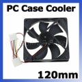 Wholesale Computer PC Case 4 Pin Cool Cooler Cooling Fan 120...