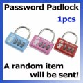 Wholesale Portable 3-Dial Combination Password Security Padl...